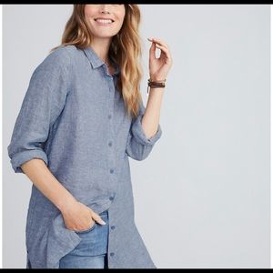 Garnet Hill Easy Linen Tunic